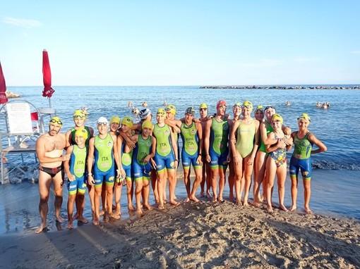 A Sanremo ottimi risultati dei giovani di Valdigne Triathlon FOTO