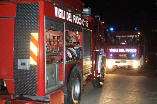 Nella notte appartamento in fiamme a Torino
