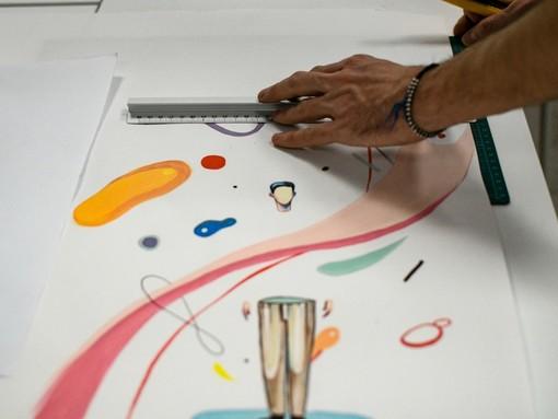 Tutto pronto per la terza edizione di ''Wonder Wall'', la maratona di disegno a favore di Fondazione Paideia