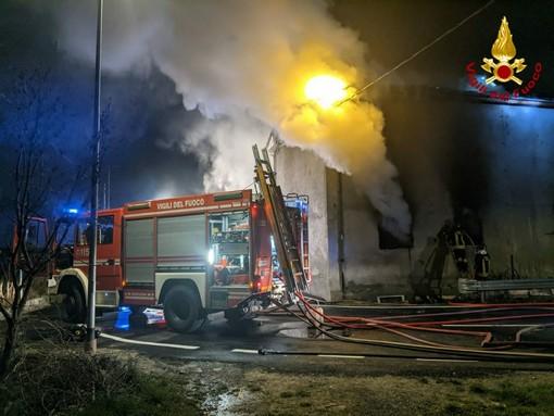 Incendio a Bussoleno