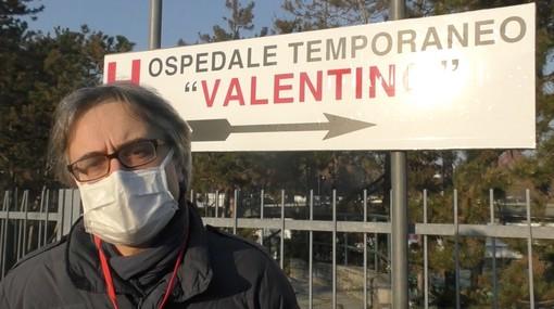"""I primi giorni all'ospedale Valentino: """"Riempito il primo reparto, i pazienti arrivano da tutta la Regione"""" [VIDEO]"""