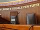 aula di tribunale - foto d'archivio