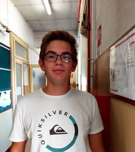Il giovane Andrea Cordera