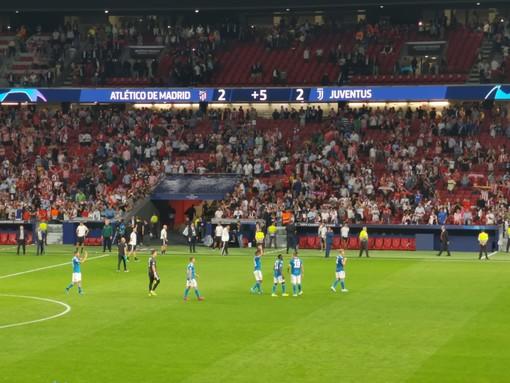 Juve, 2-2 al Wanda Metropolitano che sta stretto ai bianconeri, autori di una prestazione di spessore