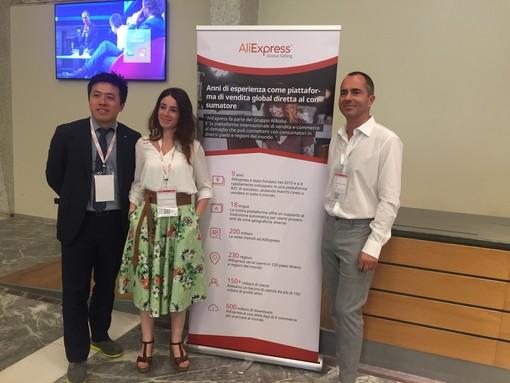 AliExpress fa tappa a Torino per portare il business del territorio a livello globale