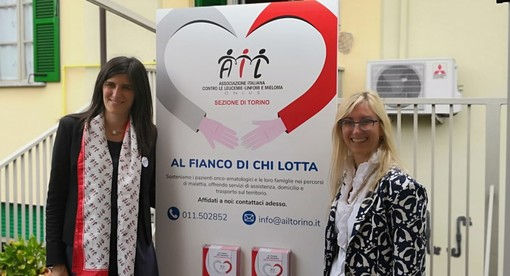 """Lotta contro le leucemie, AIL Torino vuole aiutare più pazienti e famiglie. Appendino: """"Città disponibile"""""""