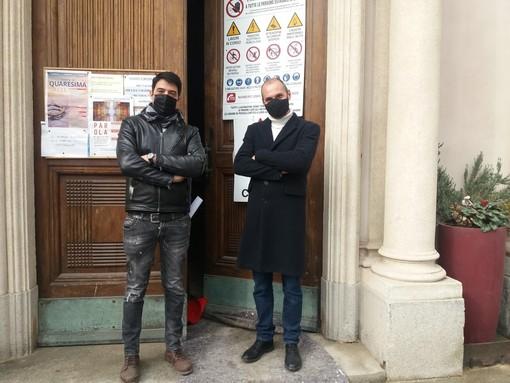Antonello Loi e Matteo Negri di Archinout