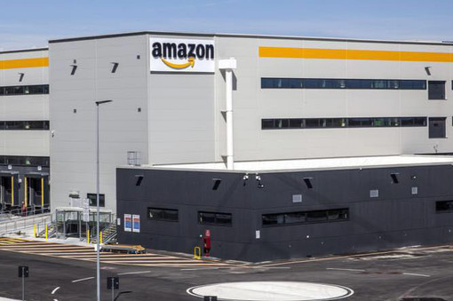 Lo stabilimento Amazon di Torrazza