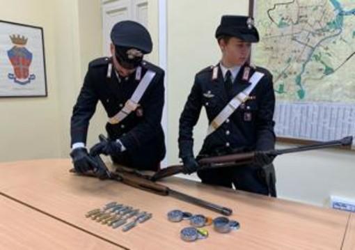 Giochi di guerra in Parco Colonnetti, due giovani denunciati dai Carabinieri