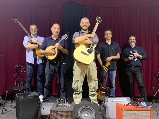 """La band """"I Matani"""" in prova al Circolo Corso Parigi"""
