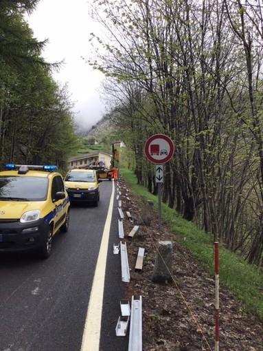 """Venaus, avviata la sostituzione delle barriere laterali sulla statale 25 """"del Moncenisio"""""""
