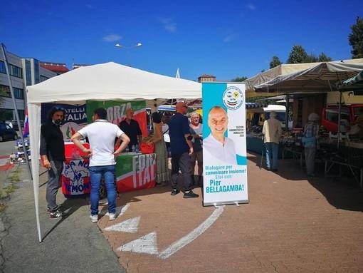 Elezioni a Moncalieri, bilancio positivo per il centrodestra dopo i primi giorni di banchetti