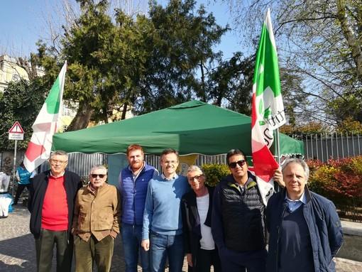 Rivoli: il candidato sindaco del Pd, Emanuele Bugnone, incontra i cittadini.