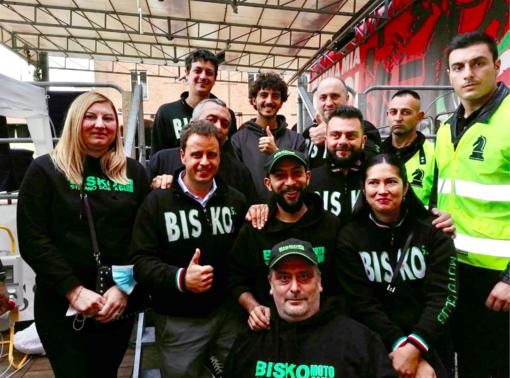 Il Bisko Moto Club con Pecco Bagnaia