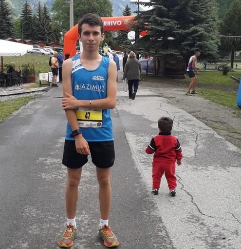Titolo Piemontese per Niccolò Biazzetti alla 2a Pragelato Running Tour KV