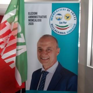 Elezioni a Moncalieri, nuovo piano regolatore e maggiore attenzione alle realtà economiche locali: i temi a cuore di Pier Bellagamba