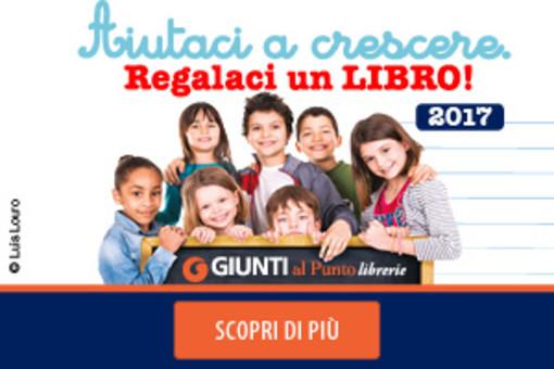 Moncalieri, più di 700 libri donati dalla Libreria Giunti