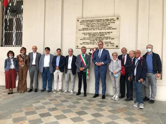 Non solo nocciolini: il sindaco della città polacca Przemyśl in visita a Chivasso