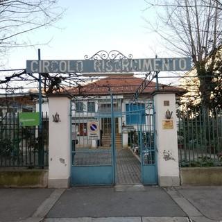 L'ingresso del circolo Risorgimento