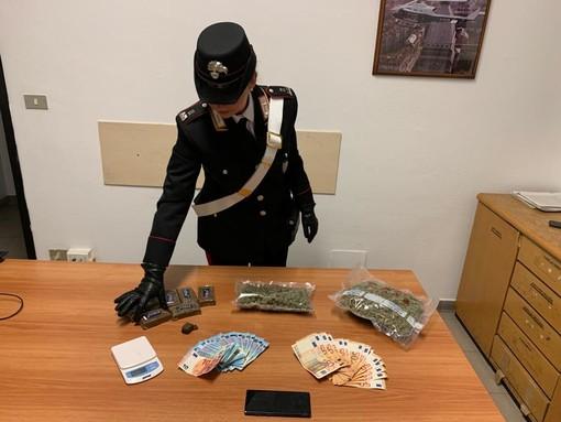 In casa gestiva un ingrosso della droga: arrestato 21enne di Settimo
