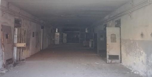 Nella foto: un'immagine del carcere Le Nuove, dove è stato presentato il Rapporto 2018 del Garante dei detenuti