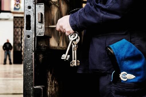 agente di polizia penitenziaria - foto di repertorio