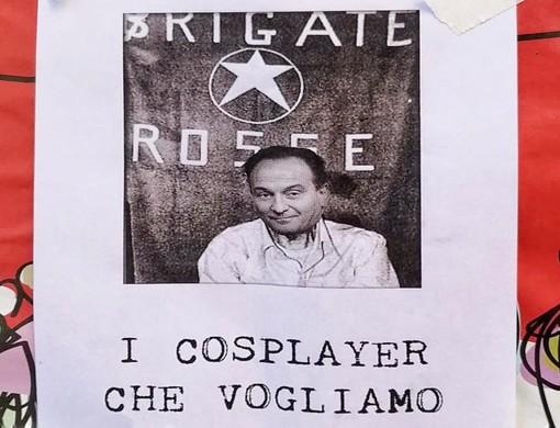 """""""Cirio come Moro"""", delirante volantino comparso nel pomeriggio a Torino"""