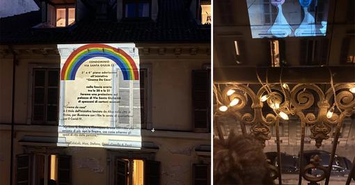 """A Torino il cinema da casa contro la solitudine da Coronavirus: """"Portiamo musica e colore a chi si sente solo"""""""