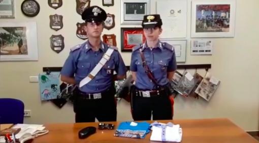 Furti in serie con il taxi, denunciato dai carabinieri [VIDEO]