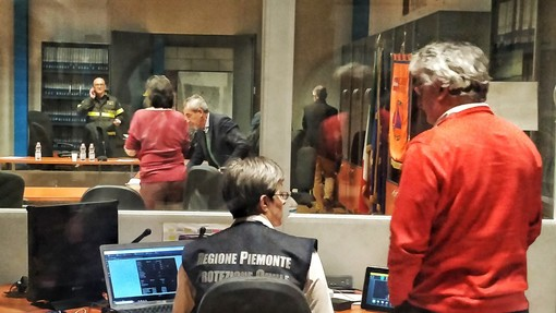 Aperta H24 la Sala Operativa della Protezione Civile per allerta arancione sul Piemonte
