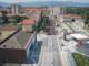 planimetria dall'alto di cantiere