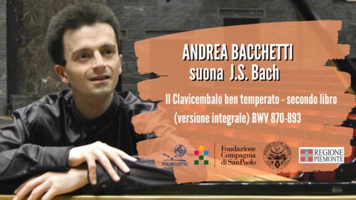 Andrea Bacchetti suona Bach per Polincontri Classica