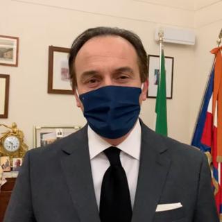 Gli auguri di un buon 2021 del presidente Alberto Cirio