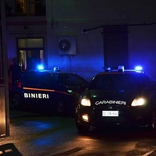 volante carabinieri notte - archivio