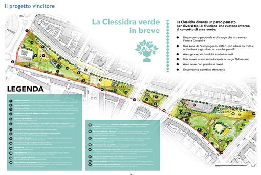 """Bilancio deliberativo, in centro una nuova area green per tutti: vince la """"Clessidra verde"""""""