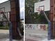 Rifatti i canestri dei campi da basket di Parco Dora