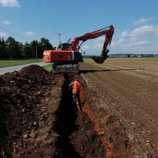 Partiti i lavori per l'allargamento della strada provinciale 88 a Villareggia