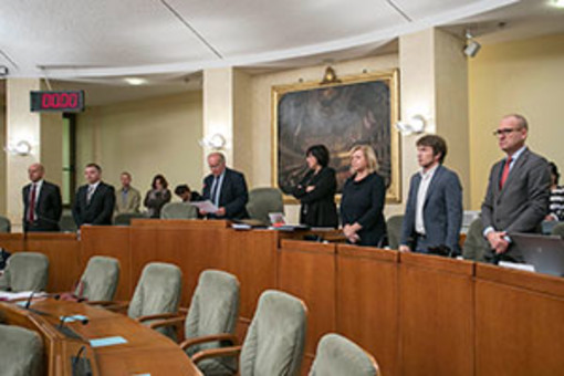 Il Consiglio regionale del Piemonte commemora le 51 vittime sul lavoro del 2017