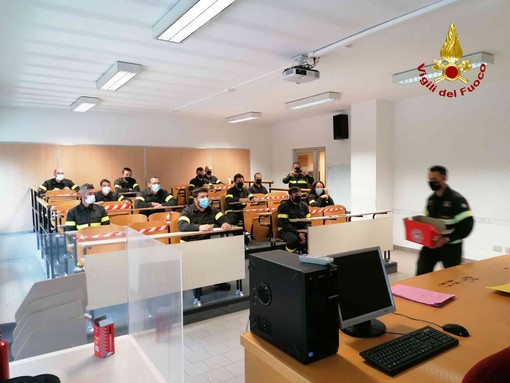 Terminato il 44° corso per i Vigili del fuoco volontari di Torino