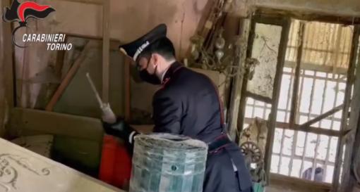 carabinieri a Busano
