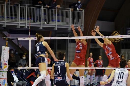 Volley, la Reale Mutua Fenera Chieri '76 supera 3-0 la Zanetti Bergamo