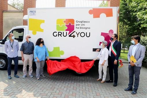 nuovo centro civico Nello Farina a Grugliasco durante un'inaugurazione