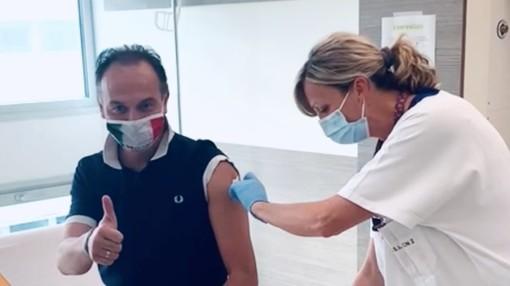 alberto cirio vaccinato