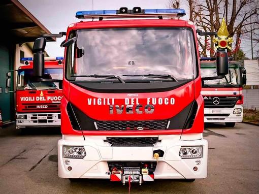 camion vigili fuoco - foto d'archivio