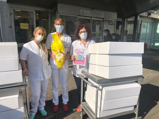 Ail torino dona 100 uova di pasqua ai bambini del reparto oncoematologico pediatrico del Regina Margherita
