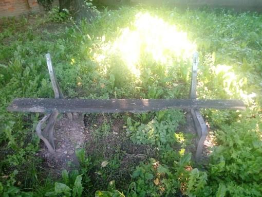 Panchine rotte, voragini ed erba alta: in corso Potenza l'area verde abbandonata