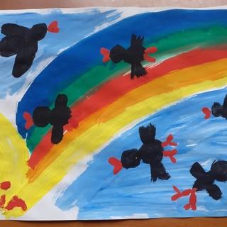 """I bimbi della """"Dubiè"""" di Moncalieri contro la nuova legge sulla caccia:""""Che male fanno gli uccelli? Colorano il cielo"""""""