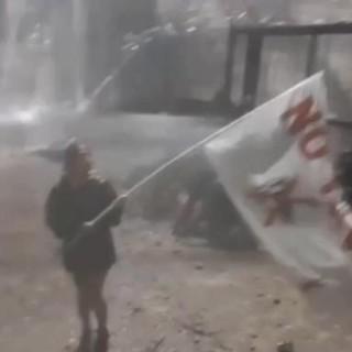 scontri tra no Tav e polizia - foto di repertorio