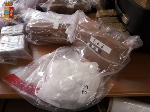 L'attività della Polizia ha portato a sequestrare 300 chili di droga
