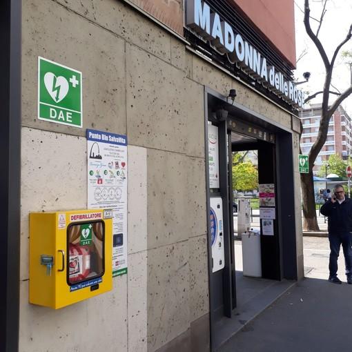 Rubato defibrillatore pubblico in piazza Galimberti: l'appello dell'Associazione Lorenzo Greco